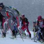Fast Euros charging hard at Pierra Menta 2006.