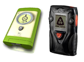 Ortovox 3+ (left) and ARVA Link will introduce new features to improve avalanche rescues.