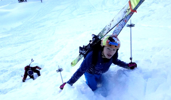 skimo racing clinic in Nelson