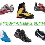 Ski mountaineer's summer.