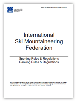 2012-2013 ISMF rules and regulations