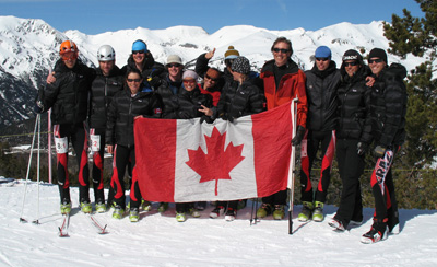 Canadian Ski Mountaineering Team