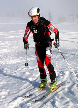Steve Sellers skimo racing