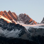 Rogers Peak and Swiss Peak morning light