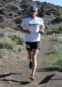 Luke Nelson running.