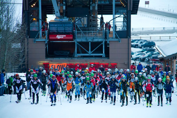 Jackson Hole ski mountaineering race 2012