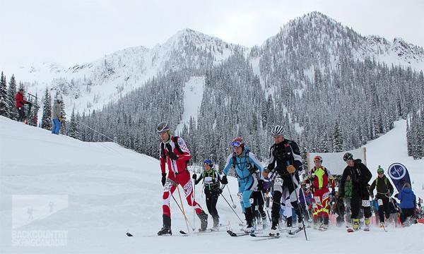 Nelson randonee skimo race 2013.
