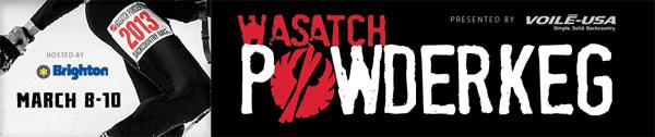 Wasatch Powder Keg 2013 skimo race