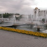 Ala-too square in Bishkek.