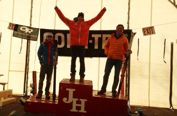 John after his big win at the 2013 Nationals in Jackson Hole. Jason Dorais was second and Luke Nelson third.