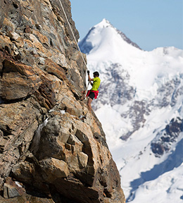 Kilian somewhere high on Matterhorn. (Uknown photo credit.)