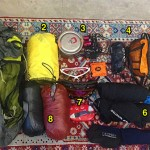 Usual gear for the Grand Traverse. Read to interview to learn all specs.