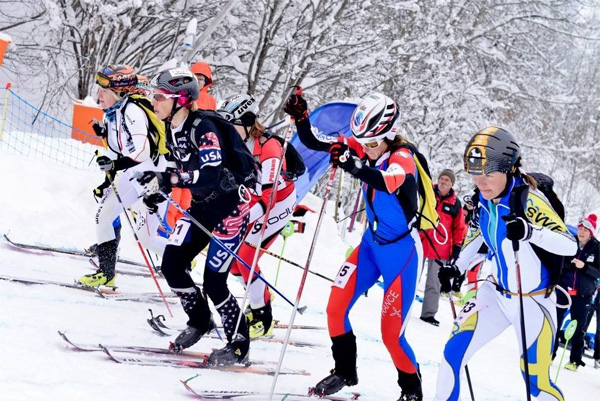 Nina got very close to capturing gold at the 2013 World Ski Mountaineering Championships. Only her mistake bumped her to 2nd.