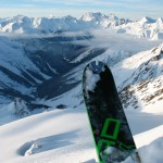 Skiing couple of 3000m powder days in Rogers Pass.