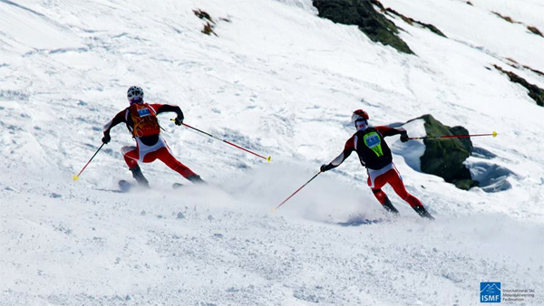 Swiss boys showing how it's done. ISMF photo.