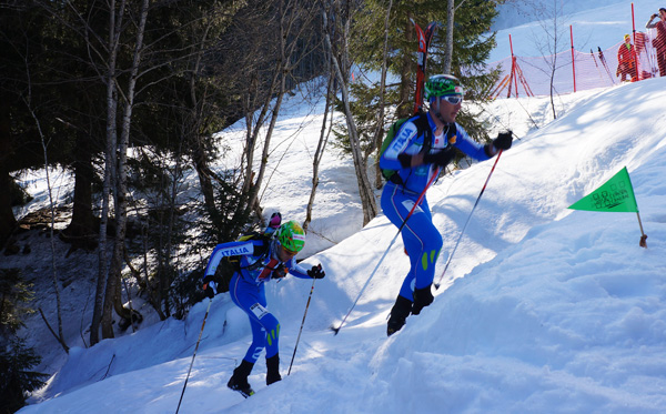 Lenzi and Eydalin are continuing the rish Italian history of super strong skimo teams.