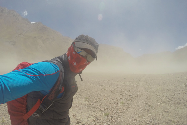 More training on Aconcagua.