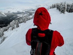 Good skiing can be had on the North facing slopes of Round Mountain in good avy conditions.