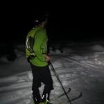 Nightime interval training on the lower Diamond Head Trail.