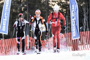 Men's Semi-Finals at Castle Mountain sprint race. Marc Gallup photo.