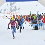 Jornet and Jaquemod running to the finish of Altitoy. Grande Course Photo.