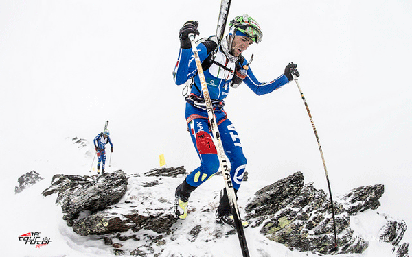 Matteo Eydallin during the second stage. Photo by Stefano Jeantet.