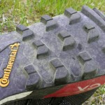 Great one piece sole. The lugs perform best on soft/wet/snowy trails yet grip to smooth rocks very well, even in rain.