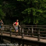 Nick leading at the Canadian Mountain Running Championships (Squamish Valley Photography Club Photo)