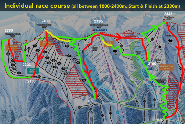 Some organizer provide a pretty good map from which you can figure out the locations of the climbs/descents and their vertical.