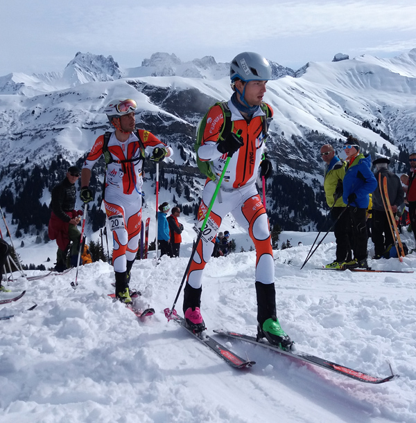 Young Catalan team of Jordi Alis and Joan Reyne Magret are continuing to impress with their performance at this Pierra Menta.