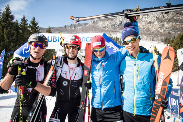Swiss winning team. ISMF photo.