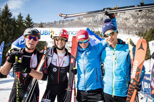 Swiss winning team. ISMF photo.