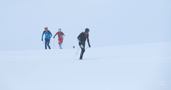 Kilian leading Eric and Lars Erik.