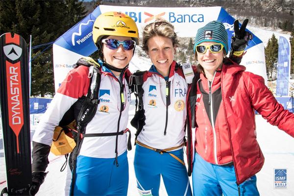 France's women winning team. ISMF photo.