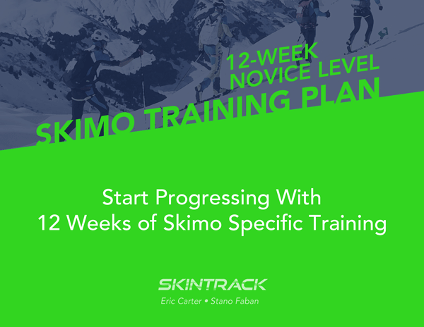Novice Skimo Racing Training Plan