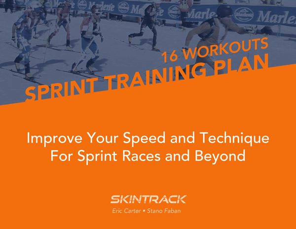 Skimo Sprint Racing Training Plan
