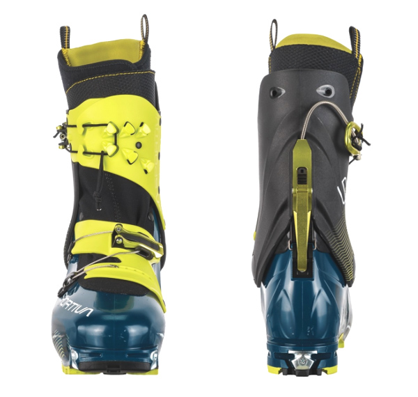 Front and back view of the Sytron boot.