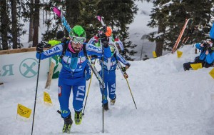 Regularly including various technical aspects of skimo racing in your workouts is crucial to your improvement.