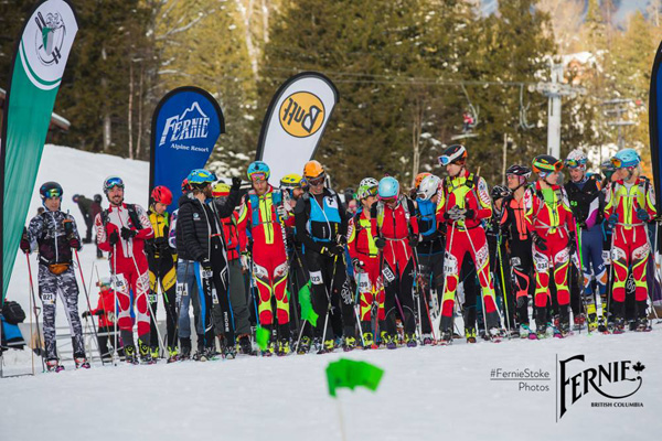 Start line in Fernie shows that the Canadian scene is getting few more spandex every year.