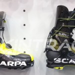 Scarpa Alien 3.0 compared to new Scarpa Alien 1.0 (on the right).