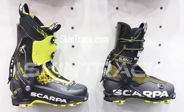 Scarpa Alien RS compared to new Scarpa Alien 1.0