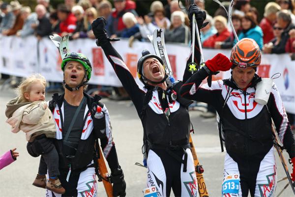 Athletes arriving in Verbier. Photo by PDG.